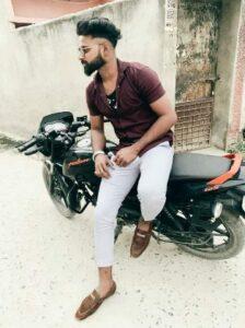 Guru bhai pulser bike