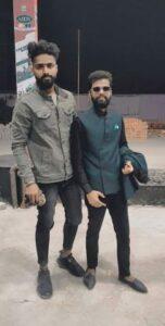 Guru bhai with king brother